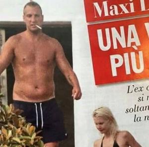 """Maxi Lopez troppo grasso, la fidanzata: """"Ora è vegano"""""""