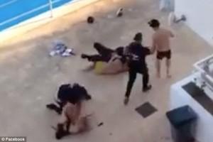 Magaluf: coppia inglese picchiati da guardie spagnole FOTO