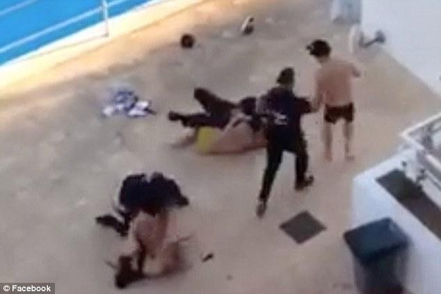 Magaluf: coppia inglese picchiati da guardie spagnole FOTO4