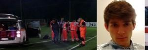 Marco Garbuglia, 19 anni, muore mentre gioca a calcetto