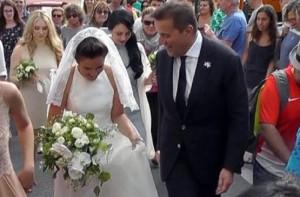 Guarda la versione ingrandita di YOUTUBE Mariarosa De Sica sposa Federico Pellegrini a Capri