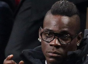 Guarda la versione ingrandita di Mario Balotelli (foto Ansa)
