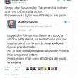 """Alessandro Gassman prende in giro Matteo Salvini? Lui: """"Rosicone, non sei..."""""""