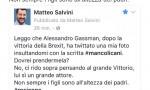 """Alessandro Gassman prende in giro Matteo Salvini? Lui: """"Rosicone, non sei…"""""""