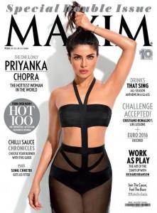Photoshop esagerato per Maxim India. La modella... FOTO
