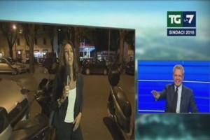 """Mentana a Sardoni: """"Non intervistiamo scooter di Giachetti…"""""""