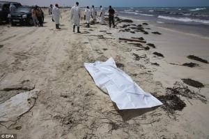Libia accusa Europa per i migranti morti in mare