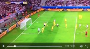 Guarda la versione ingrandita di Mustafi VIDEO gol Germania-Ucraina 1-0 Euro 2016