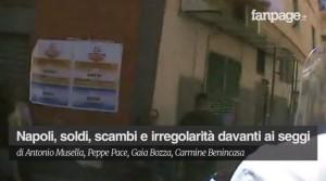 Comunali brogli. soldi ai seggi a Napoli. Perquisito il Pd