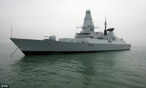 GB: le navi da guerra nel Golfo Persico distrutte dal caldo