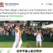 """Winbledon, Nike costretta a ritirare completi da tennis: """"Si vede tutto"""" 3"""