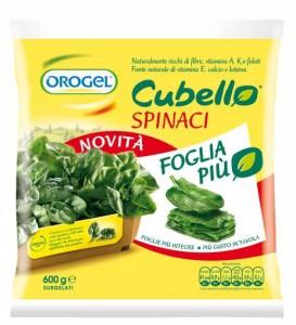 Orogel ritira spinaci Cubello dal mercato per anomalie cromatiche