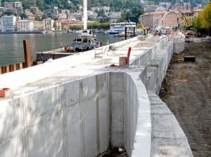 Como, inchiesta sulle paratie del lago: 4 arresti