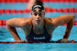 Guarda la versione ingrandita di Federica Pellegrini nuovo record nei 100 stile libero. Ma alle Olimpiadi…