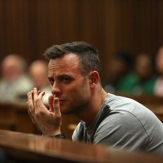 YOUTUBE Oscar Pistorius in Tribunale senza protesi FOTO 10