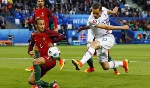 Portogallo-Islanda 1-1 (Nani, Bjarnason) VIDEO GOL HIGHLIGHTS