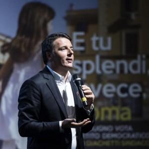 """Renzi: """"Rai? Dicono che epuriamo ma loro non ci invitano"""""""