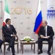 """Renzi risponde a Putin: """"Non vogliamo una nuova Guerra Fredda"""""""