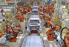 Robot in fabbrica