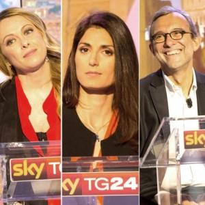 Roma, sfida tv candidati sindaco Raggi, Meloni, Giachetti...