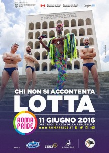 """Guarda la versione ingrandita di Asia Argento madrina Roma Pride: """"Sono gay anche io"""""""