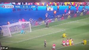 Romania-Svizzera: rigore Stancu per 1-0 VIDEO