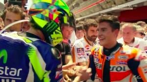 MotoGp Barcellona: vince Valentino Rossi poi Marquez Pedrosa