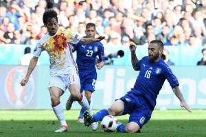 Italia, allenamento senza Antonio Candreva e Daniele De Rossi