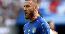 Italia-Germania: De Rossi e Candreva verso il forfait