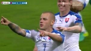 Russia-Slovacchia 0-2 Hamsik gol capolavoro