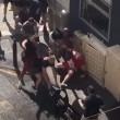 VIDEO YOUTUBE Dieci tifosi russi massacrano di botte inglese 01