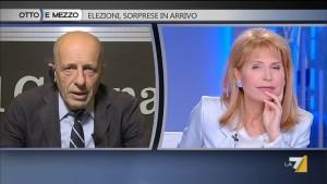 Alessandro Sallusti litiga con Lilli Gruber per il Mein Kampf