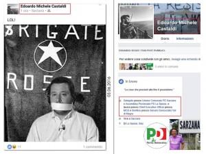 Matteo Salvini - Aldo Moro: Edoardo Castaldi (Pd) crea caos