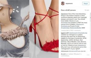 "Aquazzurra contro Ivanka Trump: ""Ci copia le scarpe"""