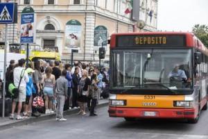 Sciopero Atac Roma 13 giugno: dalle 20,30 in...orario partita Italia