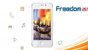 Guarda la versione ingrandita di Freedom 251, lo smartphone più economico del mondo: costa 3 euro