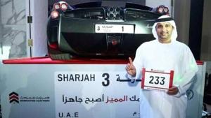 Imprenditore saudita spende 4 milioni per avere targa numero 1