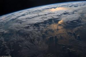 Guarda la versione ingrandita di Nuvole sull'Islanda