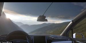 Guarda la versione ingrandita di YOUTUBE Tesla Model X, parabrezza più grande del mondo ma...