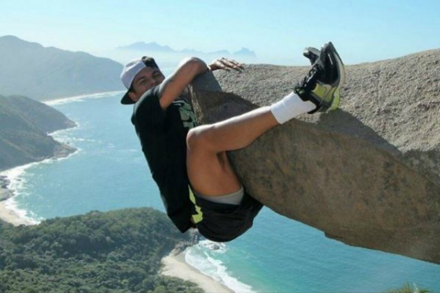 Thiago Silva, FOTO nel vuoto o effetto ottico