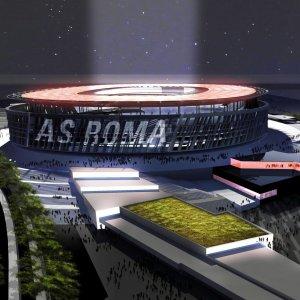Guarda la versione ingrandita di Stadio Roma. Società contro M5S: