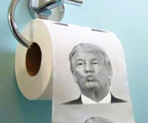 Trump, boom carta igienica made in China con il suo volto