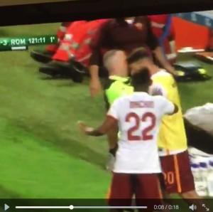 Tumminiello: video testata arbitro Roma-Inter Primavera