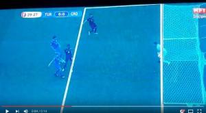 "VIDEO Turchia-Croazia, Subasic miracoloso: ""Goal Line Technology"""