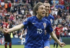 Euro 2016, Turchia-Croazia 0-1: Luka Modric gol decisivo