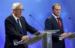 ean Claude Juncker e Donald Tusk