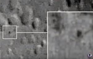YOUTUBE Ufo sulla Luna? Misterioso oggetto triangolare...