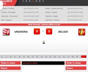Ungheria-Belgio: diretta live ottavi Euro 2016 su Blitz. Formazioni