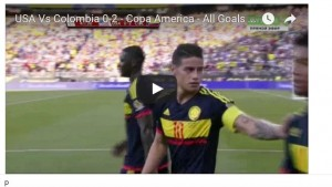 Guarda la versione ingrandita di Usa-Colombia 0-2: highlights Coppa America. Zapata gol