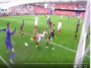 YOUTUBE Vardy VIDEO gol Inghilterra-Galles 1-1